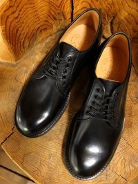 WHEELROBE ウィールローブ - PLAIN TOE BLUCHER Black 【MADE IN JAPAN】