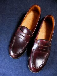 WHEELROBE ウィールローブ - HEAVY STITCHING LOAFER Burgundy 【MADE IN JAPAN】