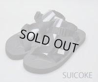 ★再入荷★SUICOKE スイコック - CHIN2 ブラック