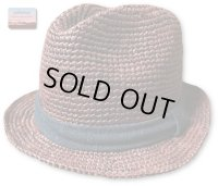 ★再入荷★GO HEMP ゴーヘンプ - RAFFIA CLASSIC HAT ブラウン