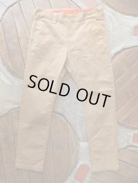GO WEST ゴーウエスト - WORK ON PANTS/高密度 DRILL STRTCH 【MADE IN JAPAN】 SAND