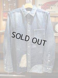 JAPAN BLUE ジャパンブルー - ヴィンテージシャツ 10oz ジンバブエ綿 デュード セルヴィッチ 【MADE IN JAPAN】