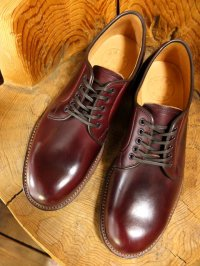 WHEELROBE ウィールローブ - PLAIN TOE BLUCHER Burgundy 【MADE IN JAPAN】