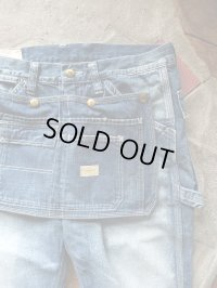 GO WEST ゴーウエスト - TOOLS PAINTER PANTS+APRON/8oz WORK DENIM USED WASH 【MADE IN JAPAN】