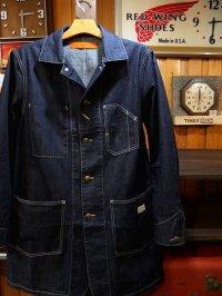 GO WEST ゴーウエスト - ENGINEER COAT/8oz WORK DENIM ONE WASH 【MADE IN JAPAN】