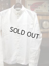 ORGUEIL オルゲイユ - Button Down Shirt Ivory 【MADE IN JAPAN】