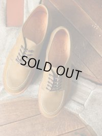 WHEELROBE ウィールローブ - MOC TOE OXFORD Beige 【MADE IN JAPAN】
