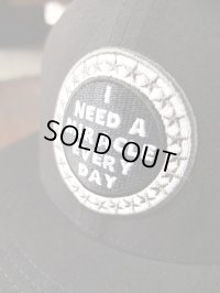 """GO HEMP ゴーヘンプ  - """"I NEED A MIRACLE EVERY DAY"""" MESH CAP BLACK"""
