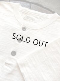 ORGUEIL オルゲイユ - Henry T-Shirt White 【MADE IN JAPAN】