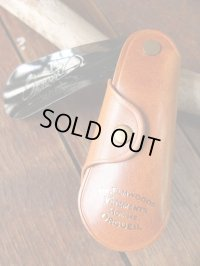 ORGUEIL オルゲイユ - Shoehorn Key Case Camel 【MADE IN JAPAN】