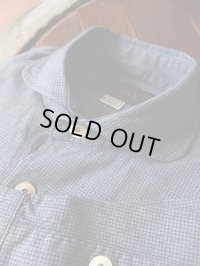 ORGUEIL オルゲイユ - Windsor Collar Shirt Blue 【MADE IN JAPAN】