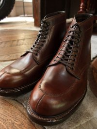 "WHEELROBE ウィールローブ - 5"" SPLIT MOC TOE BOOTS Brown 【MADE IN JAPAN】"