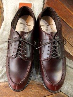 画像2: The Rutt shoes & co. ラッドシューズ - SPLIT V TIP OXFORD DK-Brown 【MADE IN JAPAN】