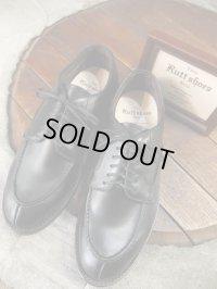 The Rutt shoes & co. ラッドシューズ - SPLIT V TIP OXFORD Black 【MADE IN JAPAN】