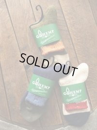 GO HEMP ゴーヘンプ - EMB SLUB QUARTER SOCKS/×ANONYMOUSISM 【MADE IN JAPAN】