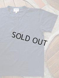 PHERROW'S フェローズ - ヘンリーネック Tシャツ G,ネイビー