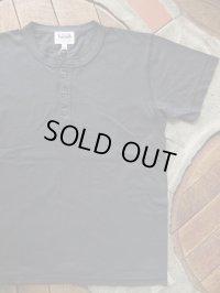 PHERROW'S フェローズ - ヘンリーネック Tシャツ S,ブラック