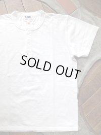PHERROW'S フェローズ - ヘンリーネック Tシャツ ホワイト