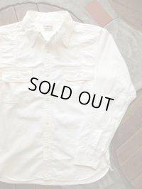 PHERROW'S フェローズ -  '40年代モデルワークシャツ  ホワイトシャンブレー 【MADE IN JAPAN】