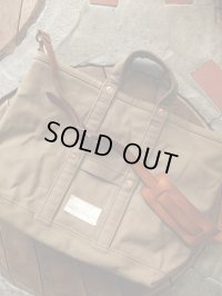 vasco ヴァスコ - CANVAS TOOL BAG -LARGE OLIVE 【MADE IN JAPAN】