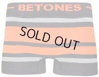 BETONES ビトーンズ ボクサーパンツ - BREATH BLACK オレンジ