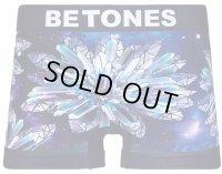 BETONES ビトーンズ ボクサーパンツ - GALAXY FLOWER ネイビー