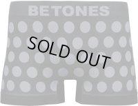 BETONES ビトーンズ ボクサーパンツ - BUBBLE5 グレー