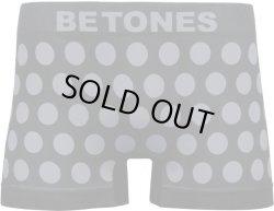 画像1: BETONES ビトーンズ ボクサーパンツ - BUBBLE5 グレー