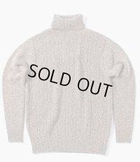 ORGUEIL オルゲイユ -  Turtleneck Sweater タートルネックセーター ブラウン