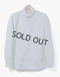 ORGUEIL オルゲイユ - Button Down Shirt ボタンダウンシャツ  ネイビー
