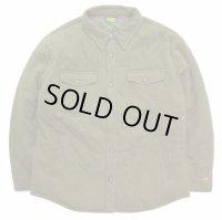 GOHEMP ゴーヘンプ - DOWN QUILT SHIRTS JACKETダウンシャツジャケット :オリーブグリーン