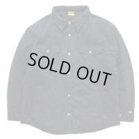 GOHEMP ゴーヘンプ - DOWN QUILT SHIRTS JACKETダウンシャツジャケット :ガンメタルグレイ