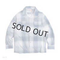 GOWEST ゴーウェスト -  OUT OF BORDER SHIRTS/BIG CHECK Blue