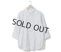 PHERROW'S フェローズ -COOLMAX 7分袖 ボタンダウン シャツ BDシャツ