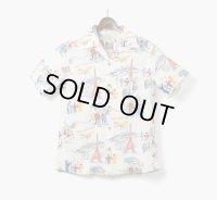 ORGUEIL オルゲイユ - Open Collared Shirt オフホワイト