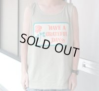 GOWEST ゴーウェスト - GRATEFUL DAY TANK / GRATEFUL DAY COLLECTION SAND