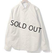 PHERROW'S フェローズ - セール!!ボタンダウン ライトモールスキンシャツ ベージュ