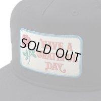 GOWEST ゴーウェスト -GRATEFUL DAY CAP(BOX LOGO) BLK