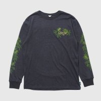GOHEMP ゴーヘンプ - GROW/LONG SLEEVE TEE/GUNMETAL GRAY CHOO