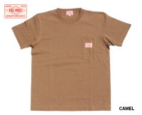 BIG MIKE - ビッグマイクSANGLASES POCKET TEE CAMEL