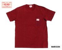 BIG MIKE - ビッグマイクSANGLASES POCKET TEE MAROON