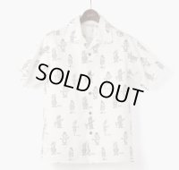ORGUEIL オルゲイユ - Open Collar Shirt : :Beige