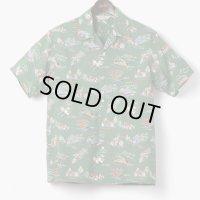ORGUEIL オルゲイユ -Aloha Shirt: :GREEN