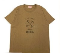 BIG MIKE - ビッグマイク風車 70s MIKE風車S/S TEE BIGMIKE : CAMEL